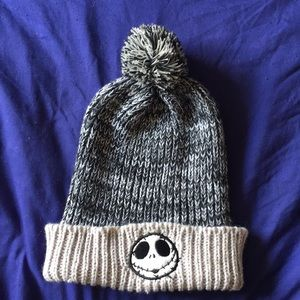 TNBC Jack Skellington knit beanie